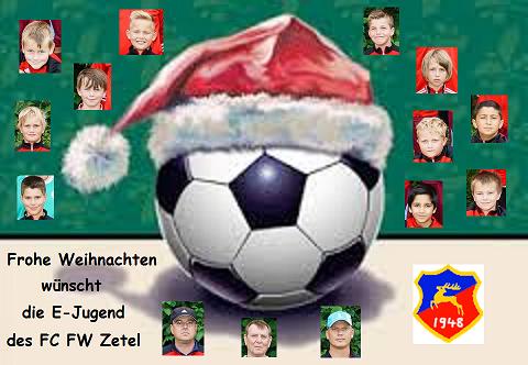 Weihnachtsfeier Der E Jugend 2016 Fc Zetel